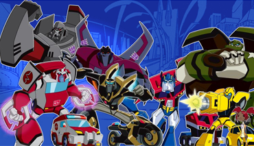 Transformers animated is the 2008 transformers series by hasbro inc