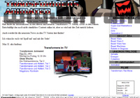 Transformers-Animated German Fansite