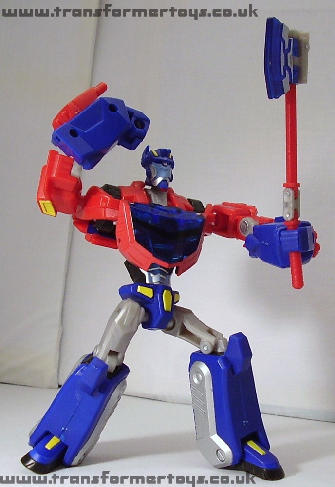 transformers animated deluxe cybertronian mode optimus