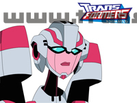 Transformers Animated Characters Arcee Wallpaper