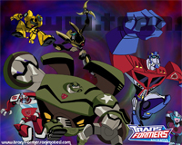Transformers Animated Groupshots Autobots Wallpaper