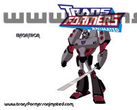 Transformers Animated Characters Megatron Wallpaper