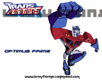 Transformers Animated Characters Optimus Prime Wallpaper