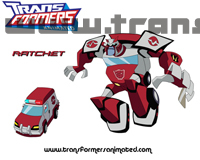 Transformers Animated Characters Ratchet Wallpaper