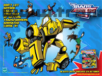 Transformers Animated Groupshots Titan Magazines Preview Wallpaper